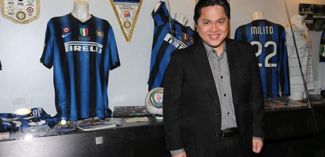 Erick Thohir museo Inter