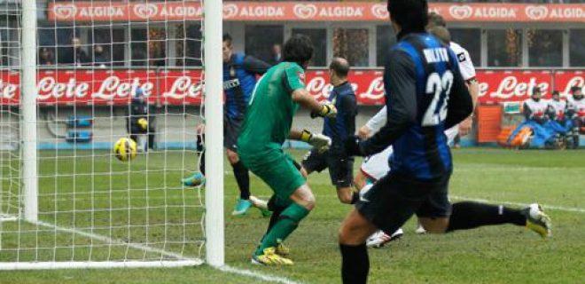 Errore gol Livaja Inter-Genoa