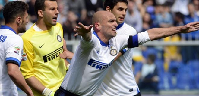 Esteban Cambiasso Sampdoria-Inter