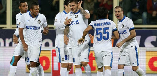 Esultanza Fiorentina-Inter