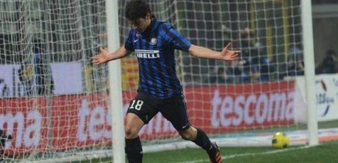 Esultanza Poli Inter-Genoa
