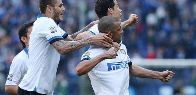 Esultanza Sampdoria-Inter