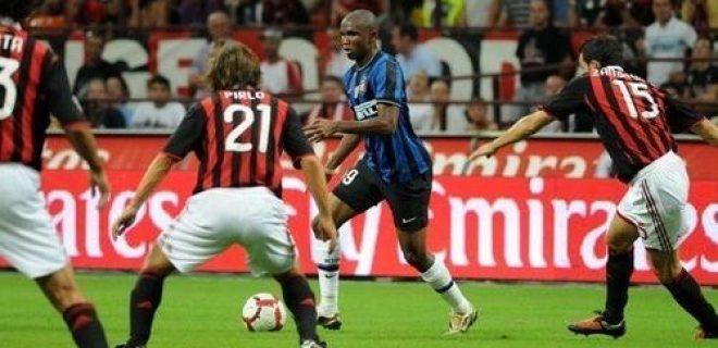 Eto'o Milan-Inter 2010