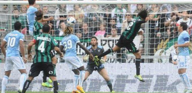 Ezequiel Schelotto gol Sassuolo-Lazio