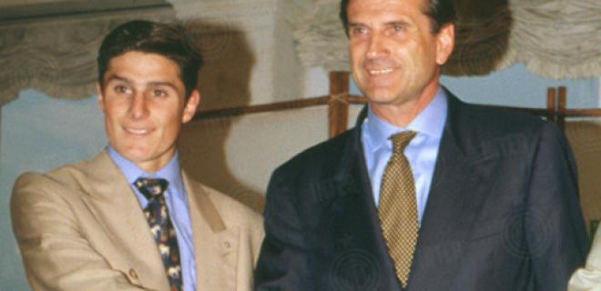 Facchetti Zanetti presentazione 1995
