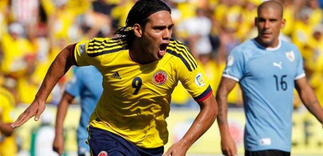 Falcao Colombia-Uruguay
