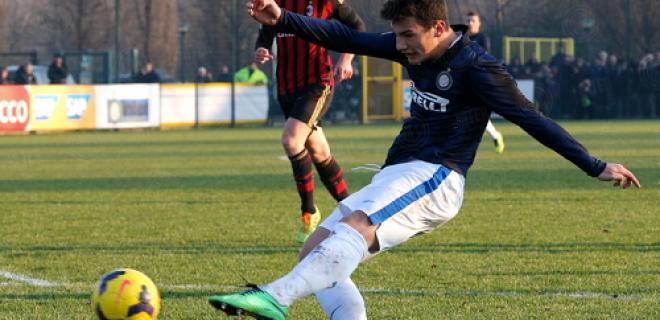 Federico Bonazzoli Inter-Milan Primavera