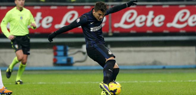 Federico Bonazzoli Inter-Trapani