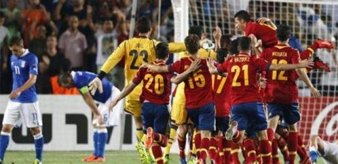 Finale Italia-Spagna Under 21