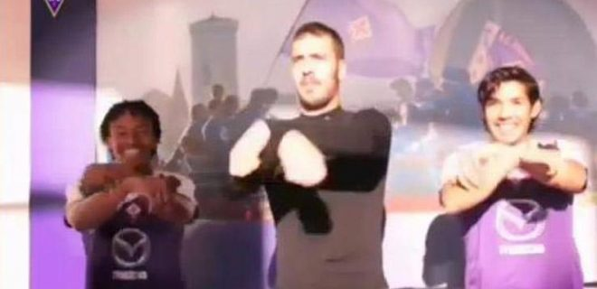 Fiorentina Gangnam Style
