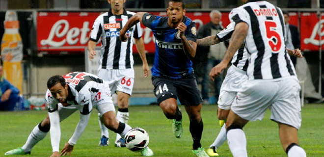 Fredy Guarin Inter-Udinese