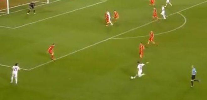 Galles-Serbia gol Kolarov