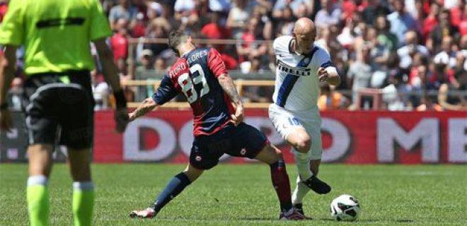 Genoa-Inter Floro Flores Cambiasso