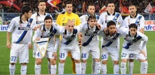 Genoa-Inter foto squadra