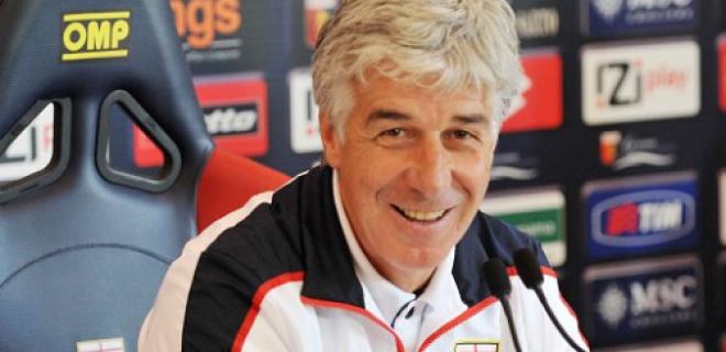 Gian Piero Gasperini Genoa conferenza