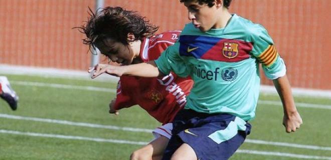 Giovani cantera Barcellona