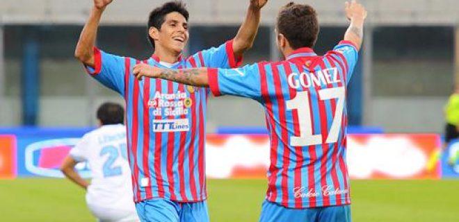 Gomez e Barrientos Catania
