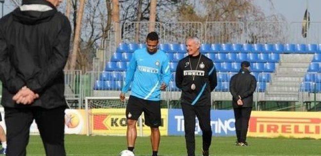 Guarin Ranieri allenamento