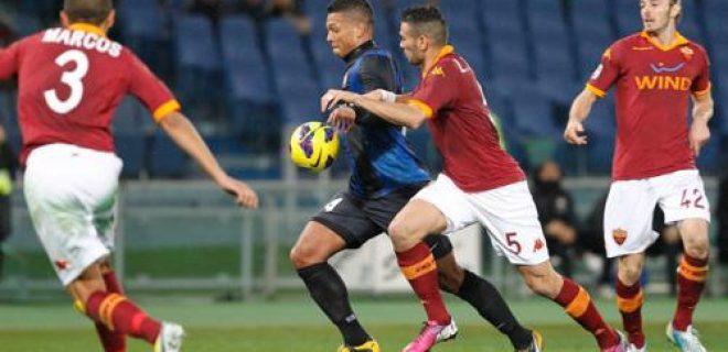 Guarin Roma-Inter azione gol