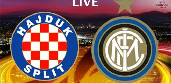 Hajduk Spalato-Inter LIVE EUROPA LEAGUE