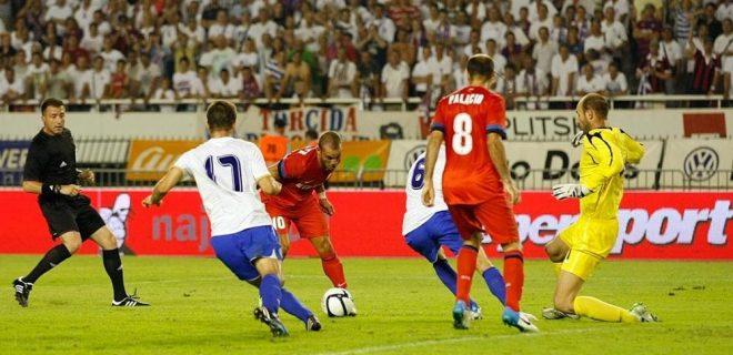 Hajduk Spalato-Inter gol Sneijder