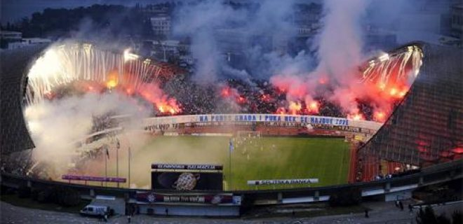 Hajduk Spalato stadio Poljud