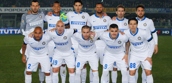 Hellas Verona-Inter foto squadra