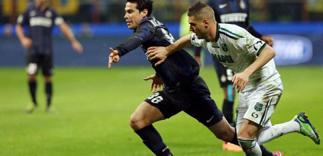 Hernanes Inter-Sassuolo 1-0