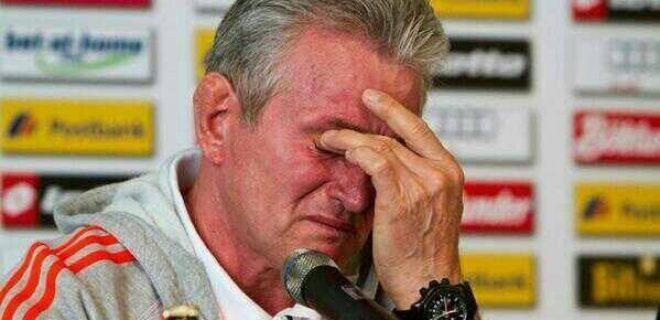 Heynckes lacrime