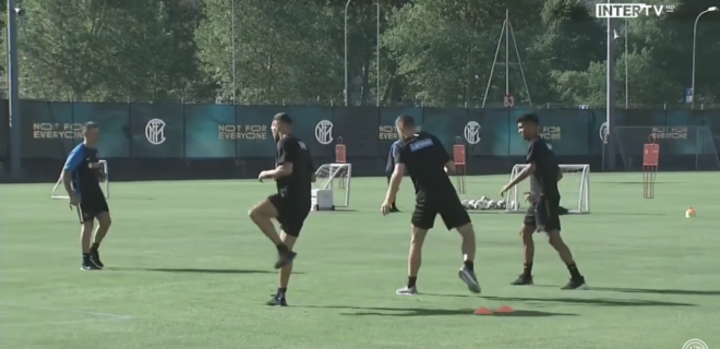 Allenamento Lugano Inter