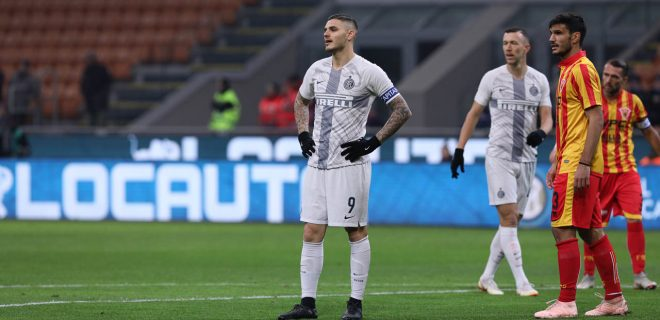 Italy, Milan, january 13 2019:  during footbal match FC INTER vs BENEVENTO, Italy Tim Cup 2018/2019 last sixteen, San Siro stadium