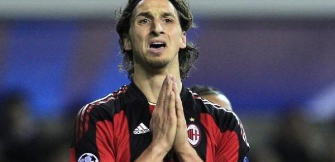 Ibrahimovic Champions mal di pancia