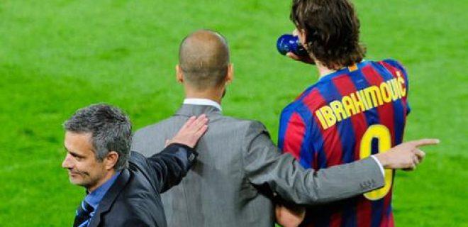 Ibrahimovic, Guardiola, Mourinho