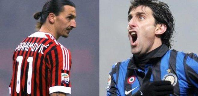 Ibrahimovic Milito derby