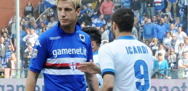 Icardi Maxi Lopez Sampdoria-Inter