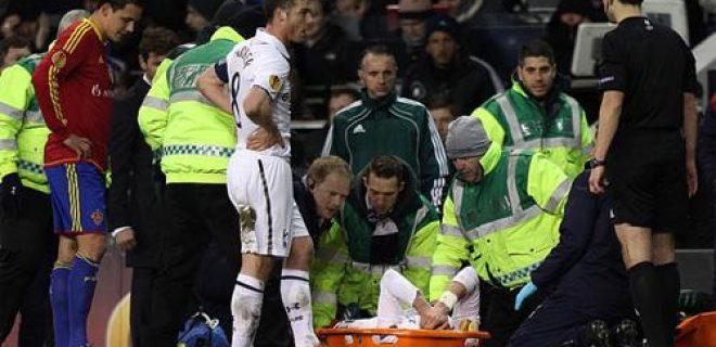 Infortunio Bale Tottenham Basilea