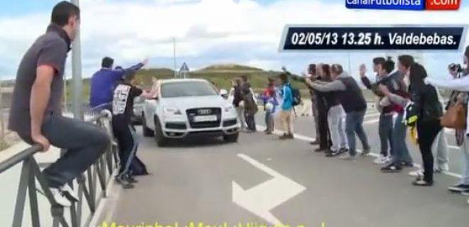 Insulti Mourinho Valdebebas Real Madrid