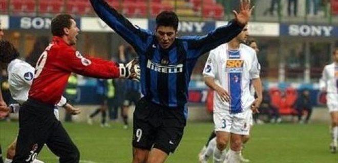 Inter-Bologna Coppa Italia 2004-05 Cruz