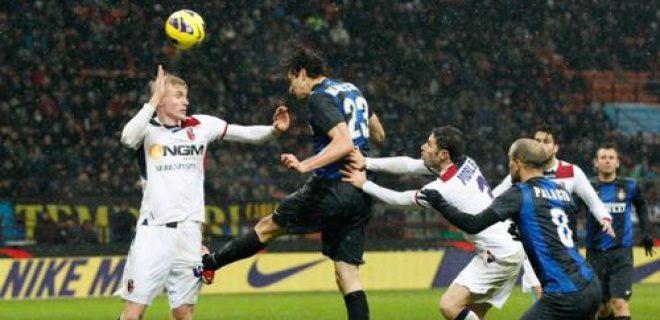Inter-Bologna gol Ranocchia