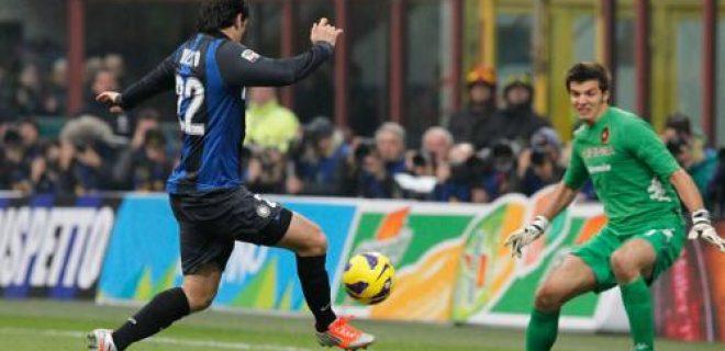 Inter-Cagliari errore Milito