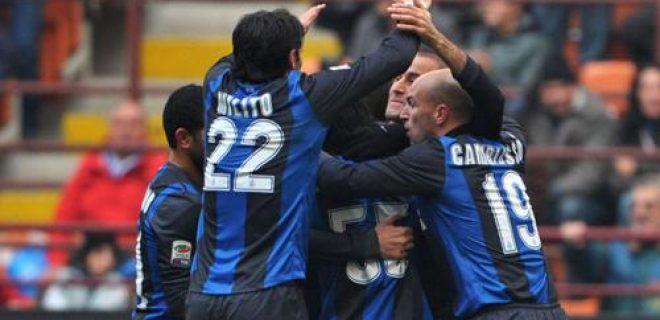 Inter-Cagliari esultanza gol
