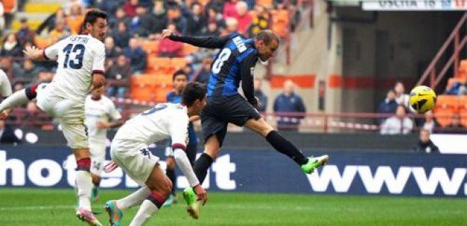 Inter-Cagliari gol Palacio