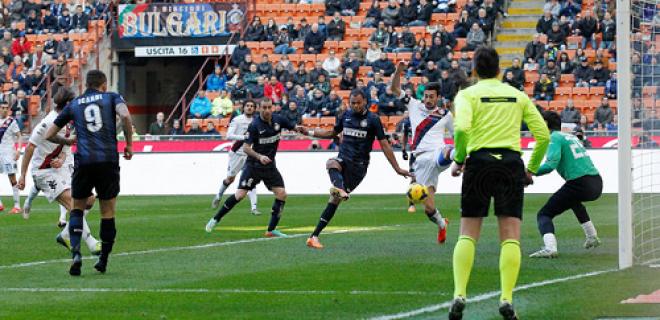 Inter-Cagliari gol Rolando