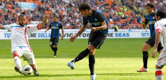 Inter-Catania 2012 Alvarez