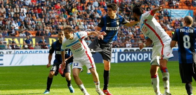 Inter Catania azione