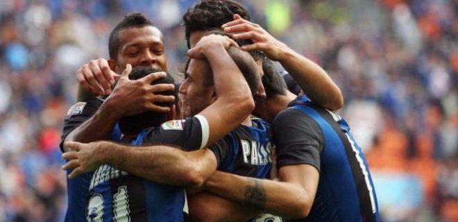 Inter-Catania esultanza gol Palacio