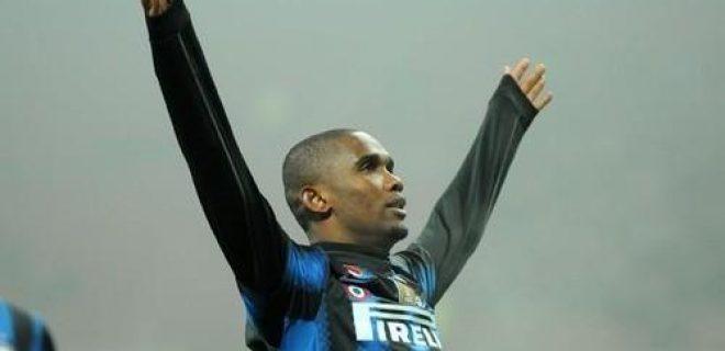 Inter-Cesena 2010-11 Eto'o