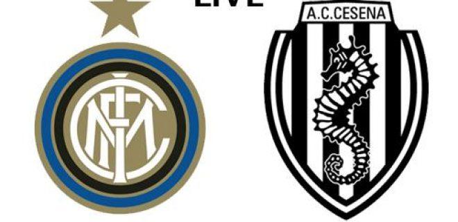 Inter-Cesena live