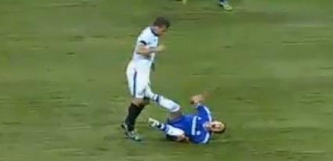 Inter-Chelsea red card Hugo