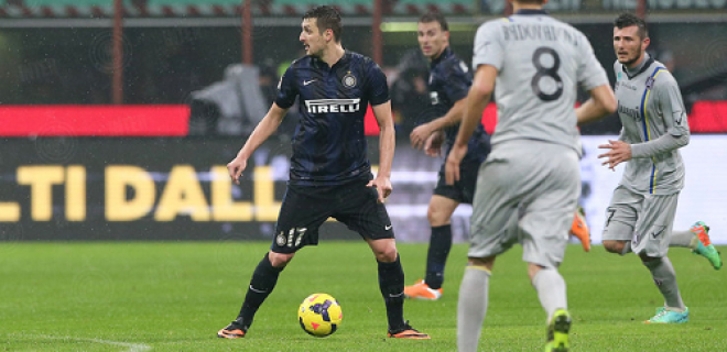 Inter-Chievo Kuzmanovic